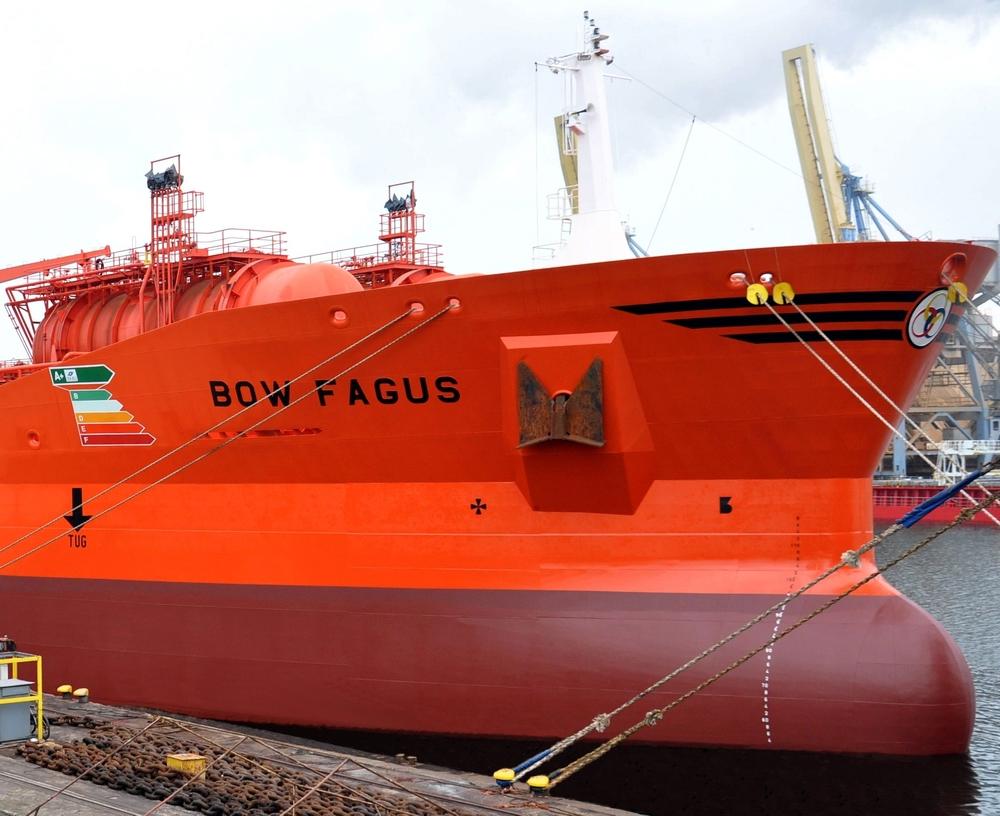 Bow Fagus at Remontowa SA Photo: Jerzy Uklejewski