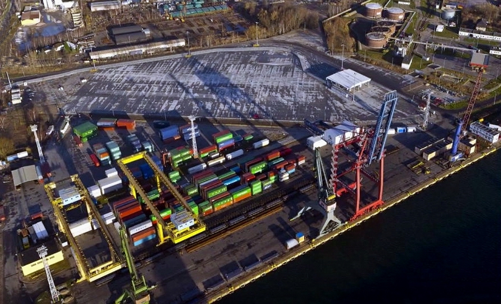 Expansion of the intermodal container terminal in the Port of Gdansk