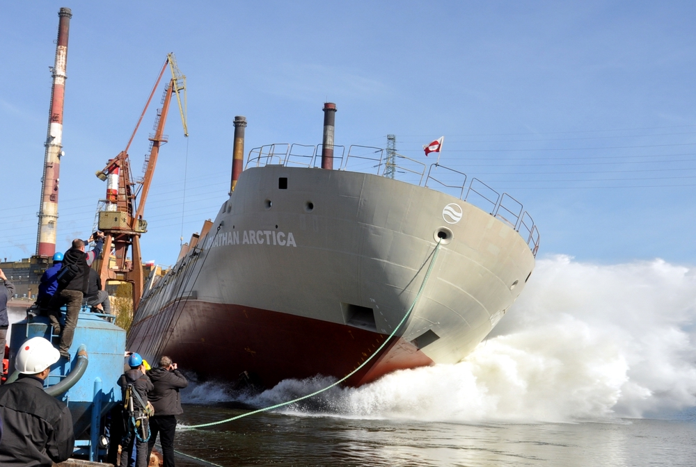 Two arctic supply vessels for RAL launched at Remontowa Shipbuilding
