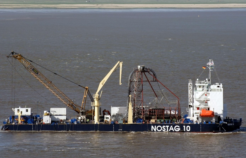 Nostag 10 upgraded by Poltramp in operation. Photo: Vattenfall