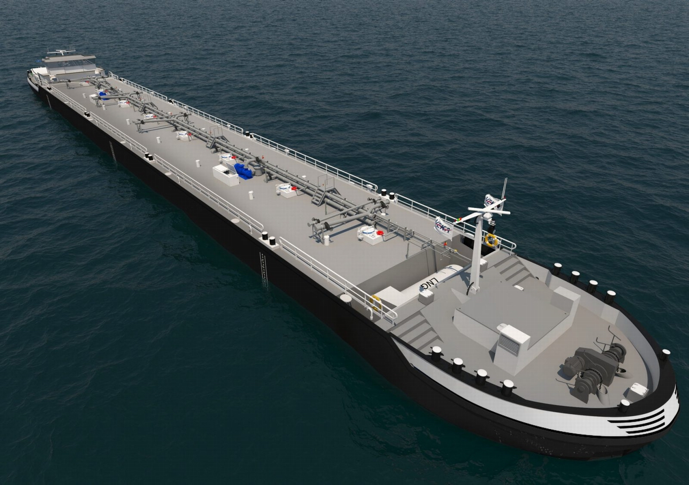 LNG barges partly built at Centromost to be powered by Wärtsilä engines