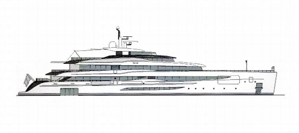 Szczecin Industrial Park saw the start of a superyacht hull construction