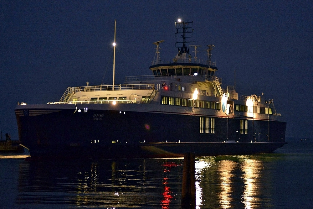 The first LNG fuelled ferry sails domestic route within EU