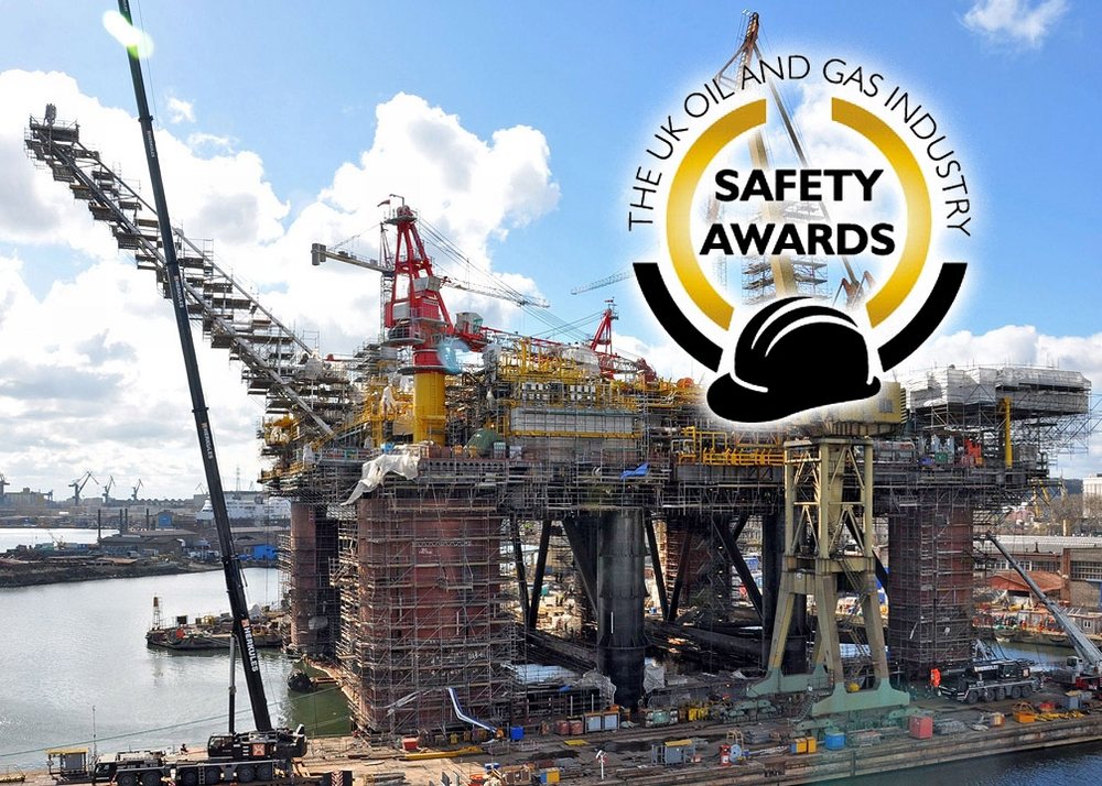 Remontowa distinguished in UK Oil and Gas Industry Safety Awards 2015