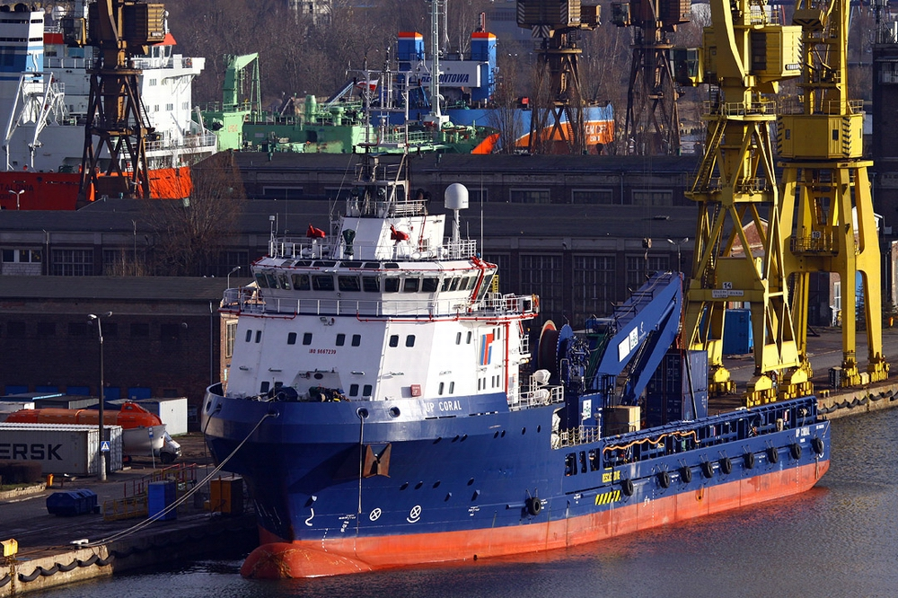 Remontowa SA upgraded a PSV for ROV support and subsea operations