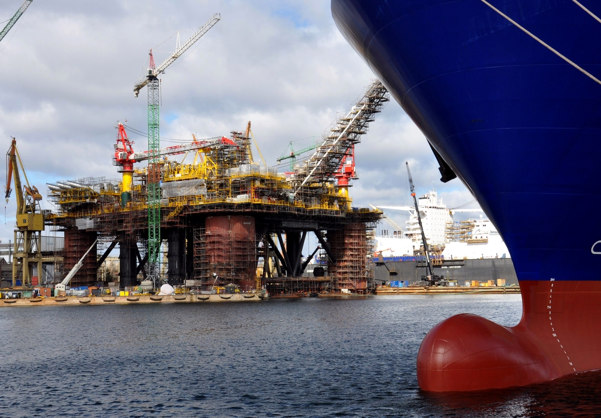 The largest offshore conversion project executed in Polish yards