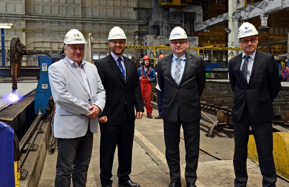 Construction begins on the third BC Ferries' LNG ferry