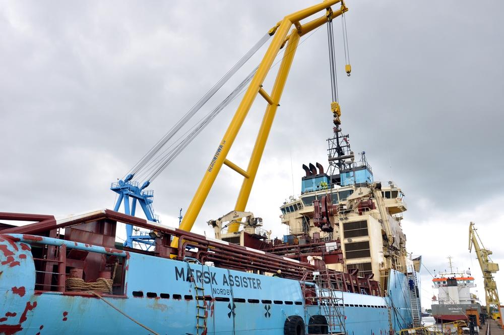 Maersk Assister AHTS upgraded at Remontowa Shiprepair Yard SA