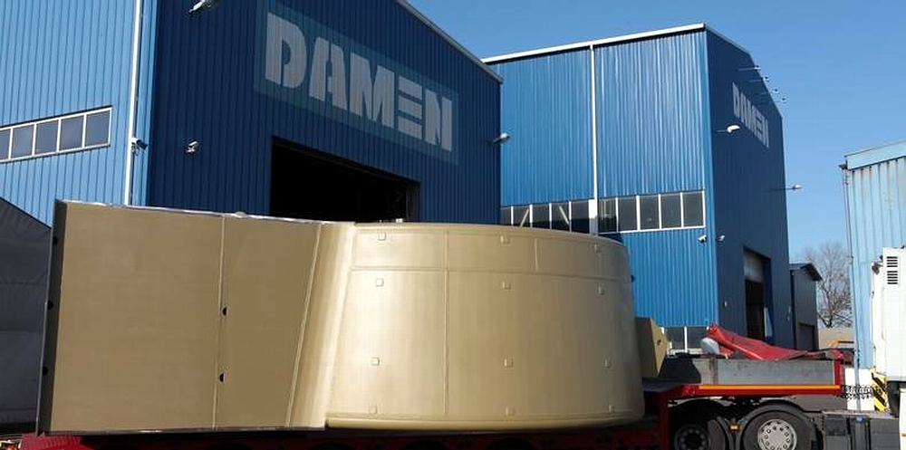 Damen Marine Components delivers Optima nozzles from Poland