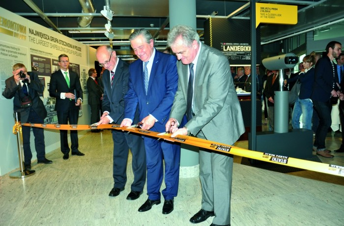 Multimedia exhibition dedicated to shipbuilding industry in Gdansk