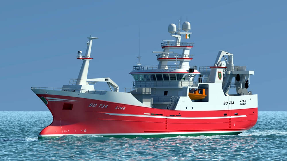 Nauta to build another partly outfitted hull of a seiner