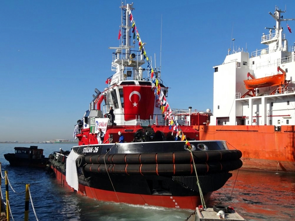 A new fire fighting boat in the Port of Szczecin and Świnoujście