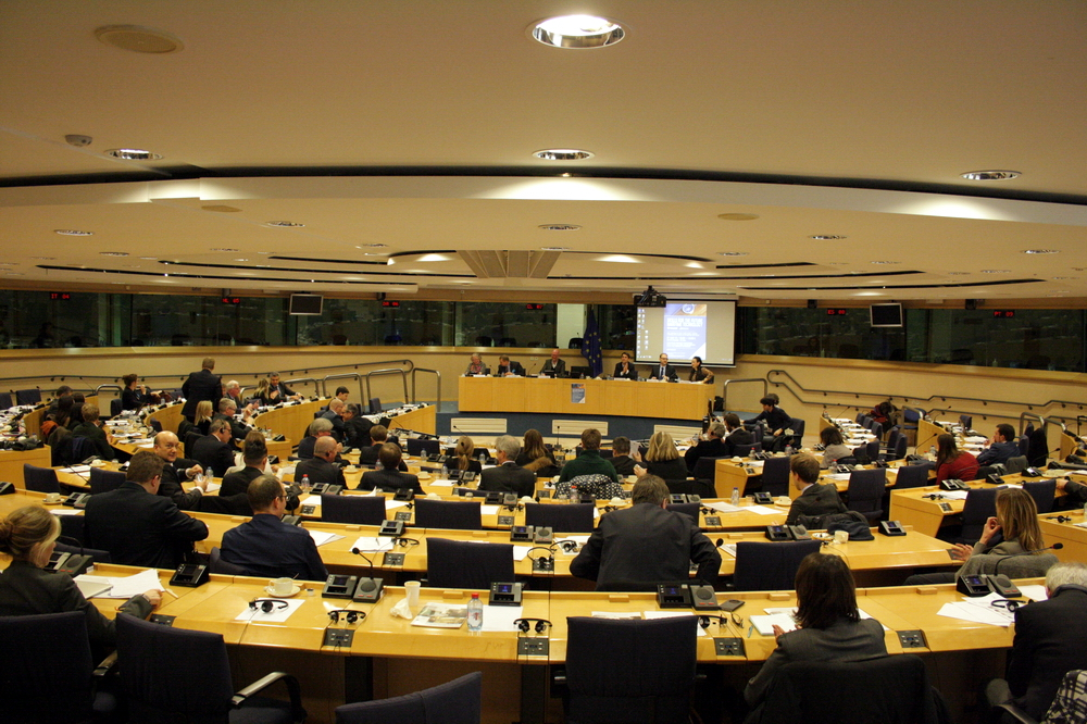 "Participants in the Conference ""Skills for the Future Maritime Technology"". Photo: European Parliament"