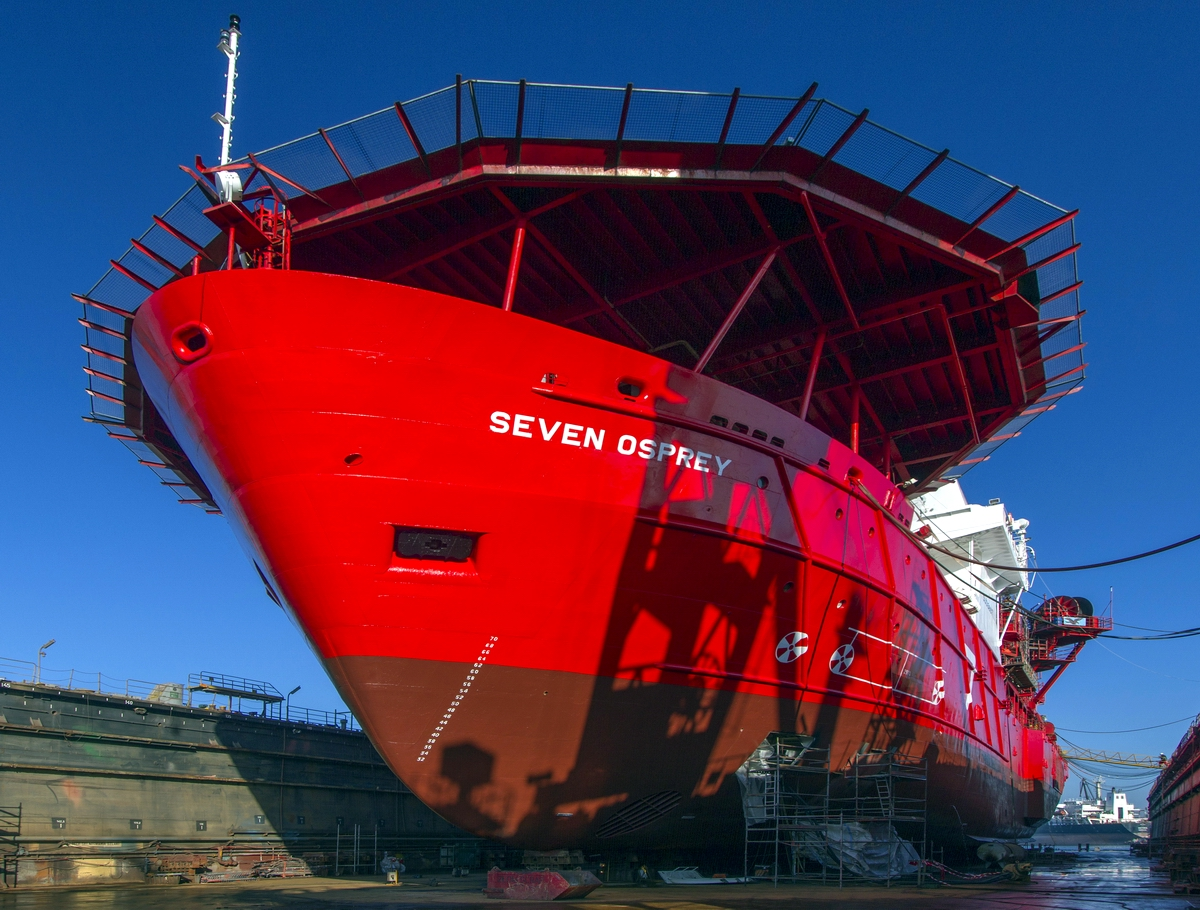 Seven Osprey rejuvenated at Remontowa Shiprepair Yard