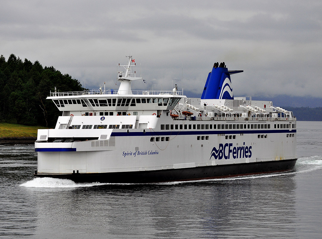 BC Ferries' Spirit of British Columbia