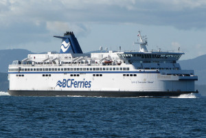 BC Ferries' Spirit of Vancouver