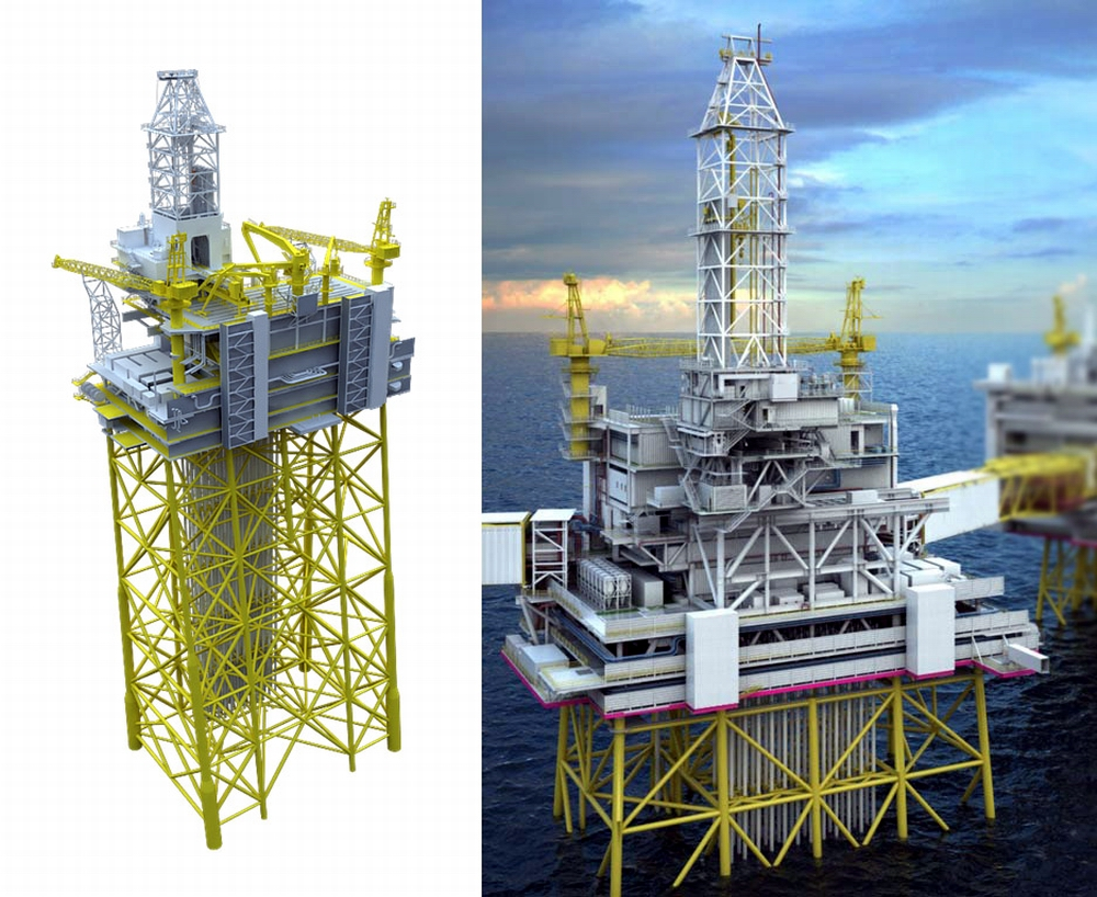 The official start for Johan Sverdrup drilling rig module fabrication at Vistal