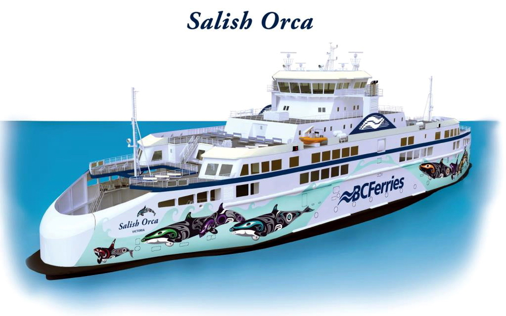 BC Ferries reveals how its new ferries will look like…