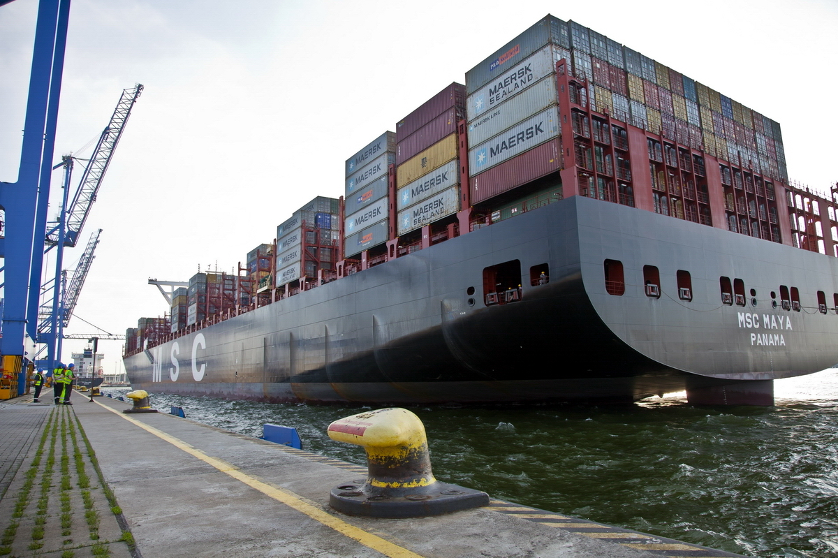 Over 530,000 TEUs handled in the first five months in the Port of Gdansk