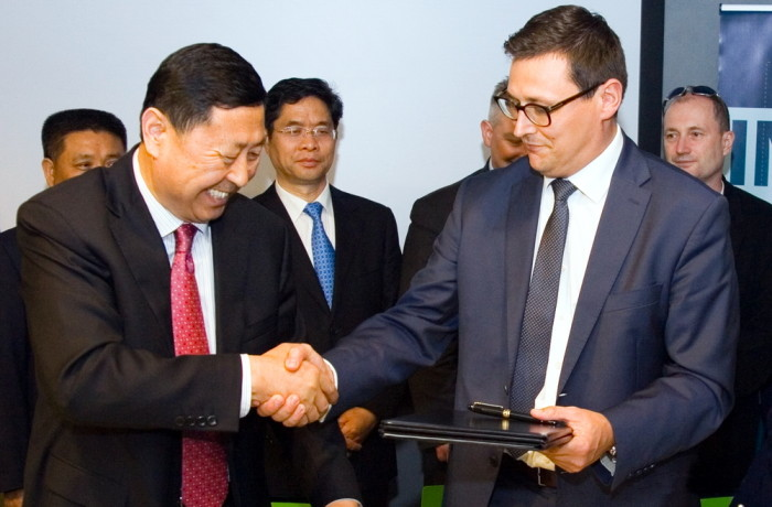 Memorandum of Cooperation with the Port of Qingdao