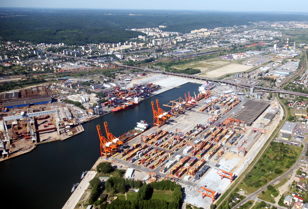 Baltic Container Terminal In Gdynia Joined FEPORT Poland