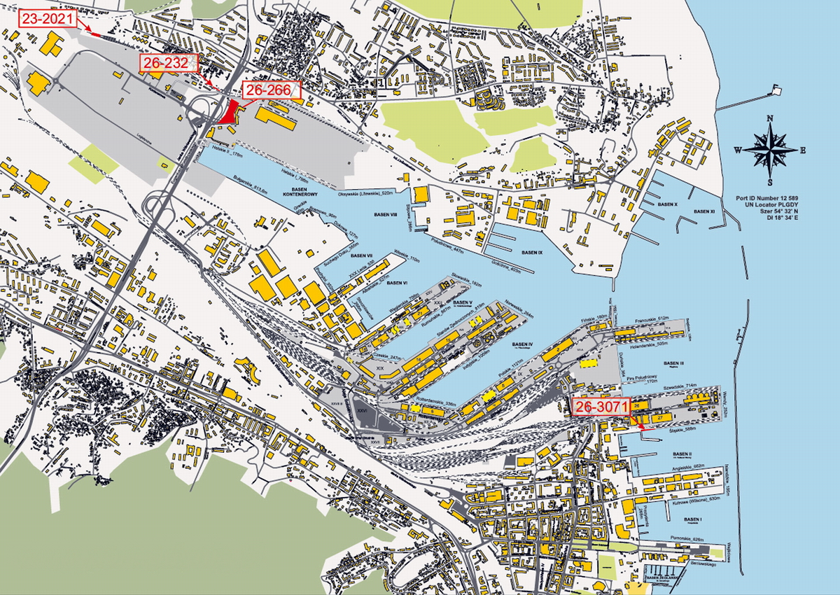 More land for the development of the Port of Gdynia