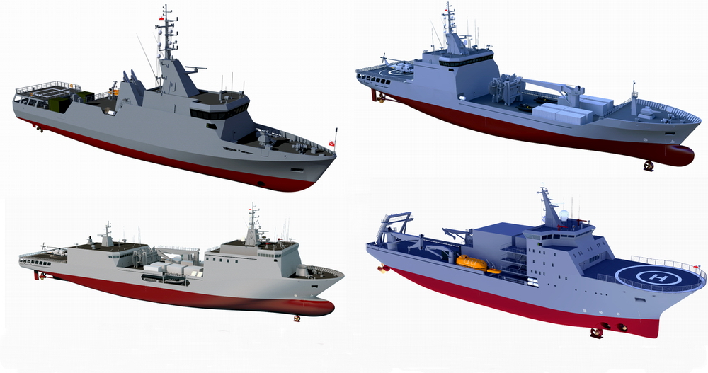 RMDC unveils new design proposals for the Polish Navy