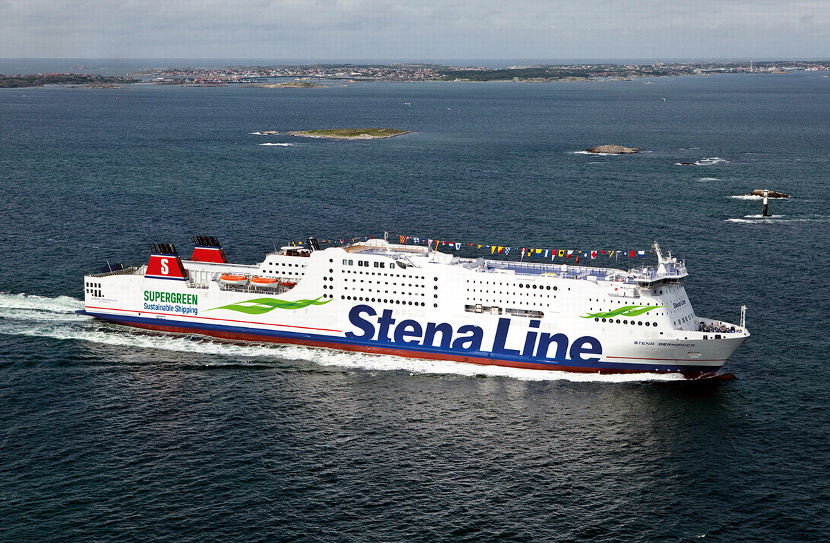 Stena Line has become the first operator in the world to run a large 1,500 passenger ferry on methanol. Photo: Stena Lines