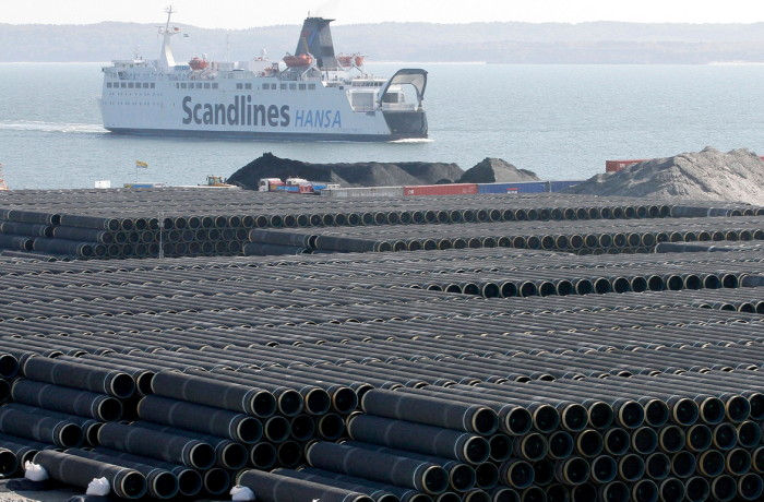 The Nord Stream 2 would double the capacity of pipeline transit from Russia to the EU through the Baltic Sea to 110 bcm. Photo: REUTERS/Tobias Schwarz
