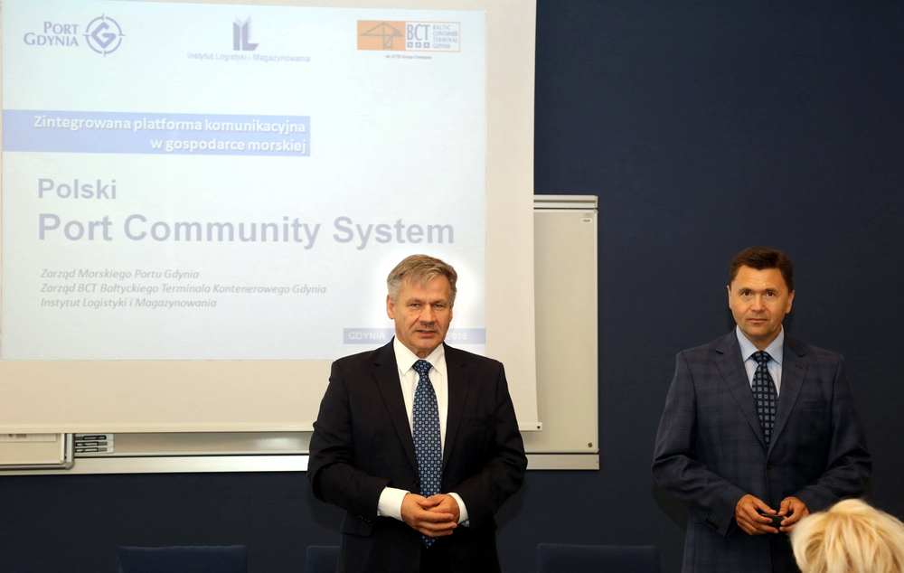 The first stage of works on the Port Community System in Gdynia