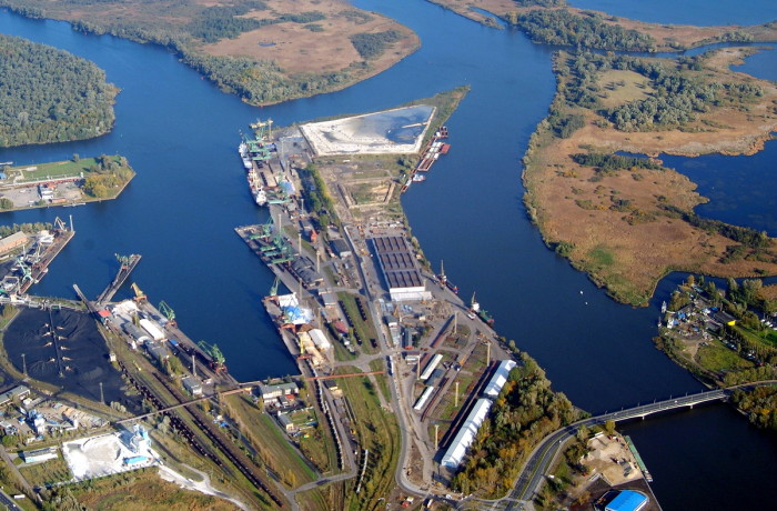 The port of Szczecin. Photo: Szczecin and Swinoujscie Seaports Authority SA