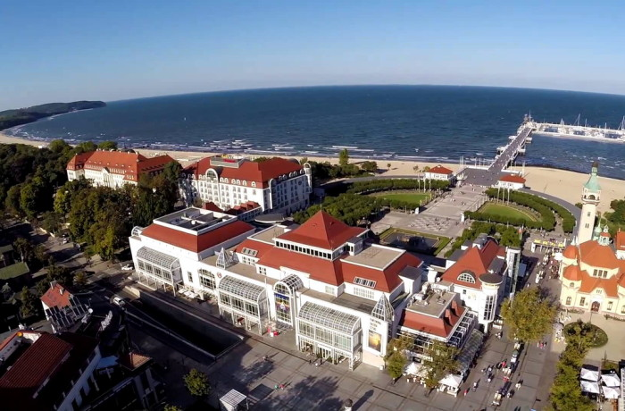 The 1st Mare Forum Poland 2016 will be held in Sopot, called the Baltic Pearl. Photo: Sheraton Sopot Hotel