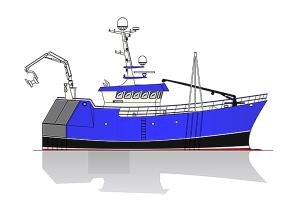 Macduff newbuilding no. 671 with hull supplied by Kedat of Szczecin