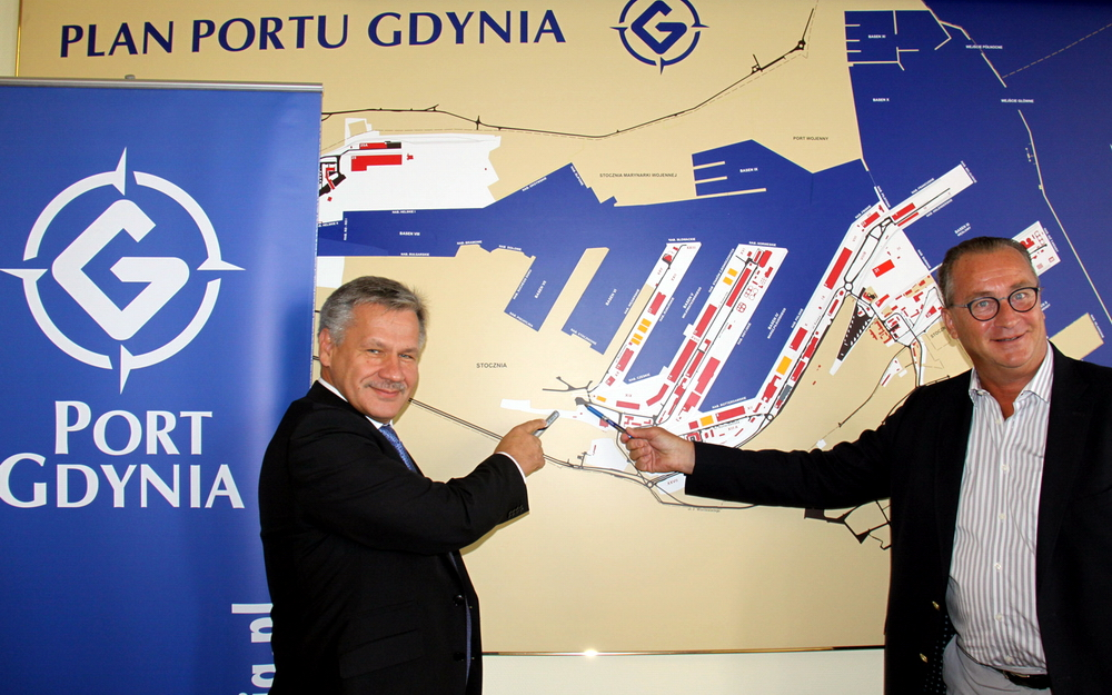 New cement processing plant to be built in the Port of Gdynia