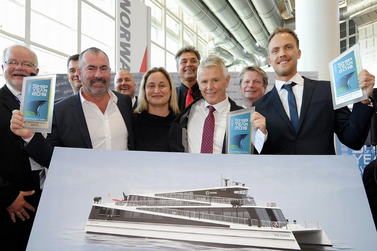 Norwegian Ship of the Year 2016 with… Polish clues!