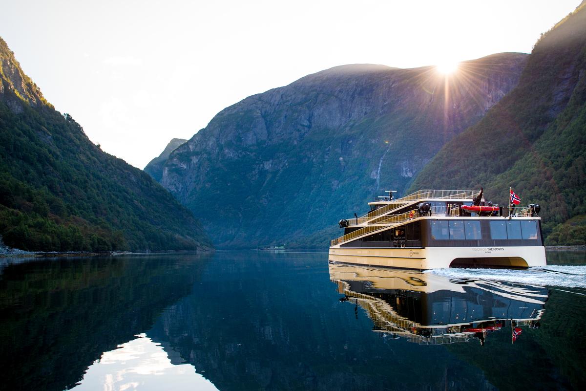 Vision of the Fjords. Photo: Sverre Hjørnevik