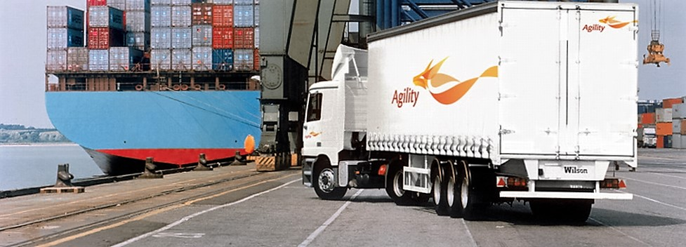 Agility's core commercial business, Global Integrated Logistics (GIL) offers i.a. air, ocean and road freight forwarding. Photo: Agility