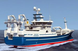 A computer rendering of the Grateful. Fig.: Rapp Marine