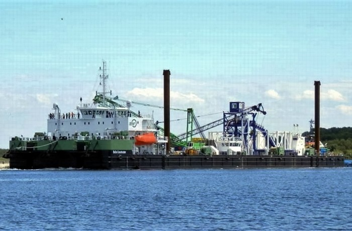 BoDo Constructor at Poltramp Yard in Szczecin. Photo: Poltramp Yard