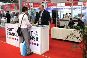 The Port of Gdansk presented its stand at CILF for the first time in this part of the world. Photo: Port of Gdansk