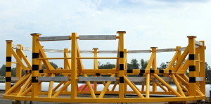 Anode cages prefabricated by GSG for Bladt Industries. Photo: GSG Towers