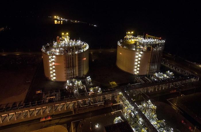 The President Lech Kaczyński LNG Terminal in Świnoujście has largely contributed to good results of the seaports in Western Poland. Photo: Polskie LNG
