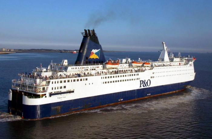 Pride of York. Photo courtesy: P&O Ferries