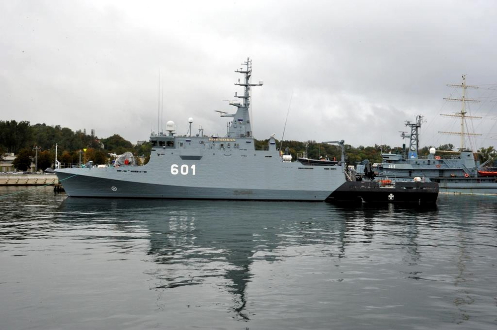 Minehunter ORP Kormoran seen at Gdynia naval harbor for the first time. Photo: Polish Navy