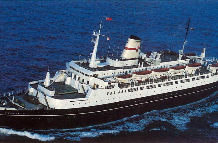 Stefan Batory - the World's last regularly operated transatlantic liner. Photo: Archive