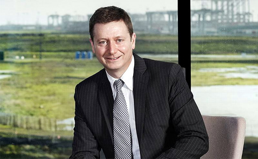 Cameron Thorpe is the new CEO at DCT Gdansk SA