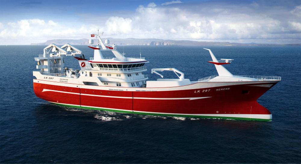 Five hulls of fishing vessels to be built at Nauta