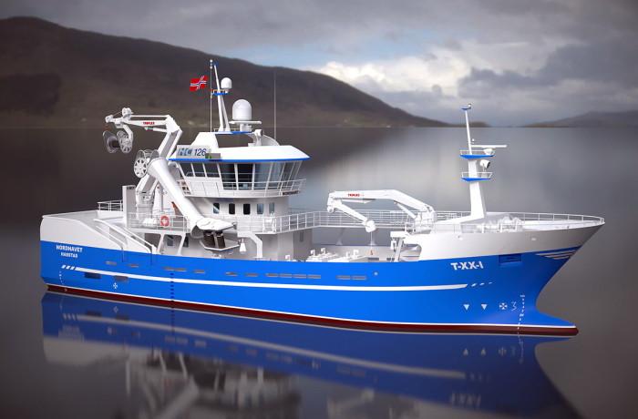 Nordhavet  - computer rendering Fig.: Naval Consult