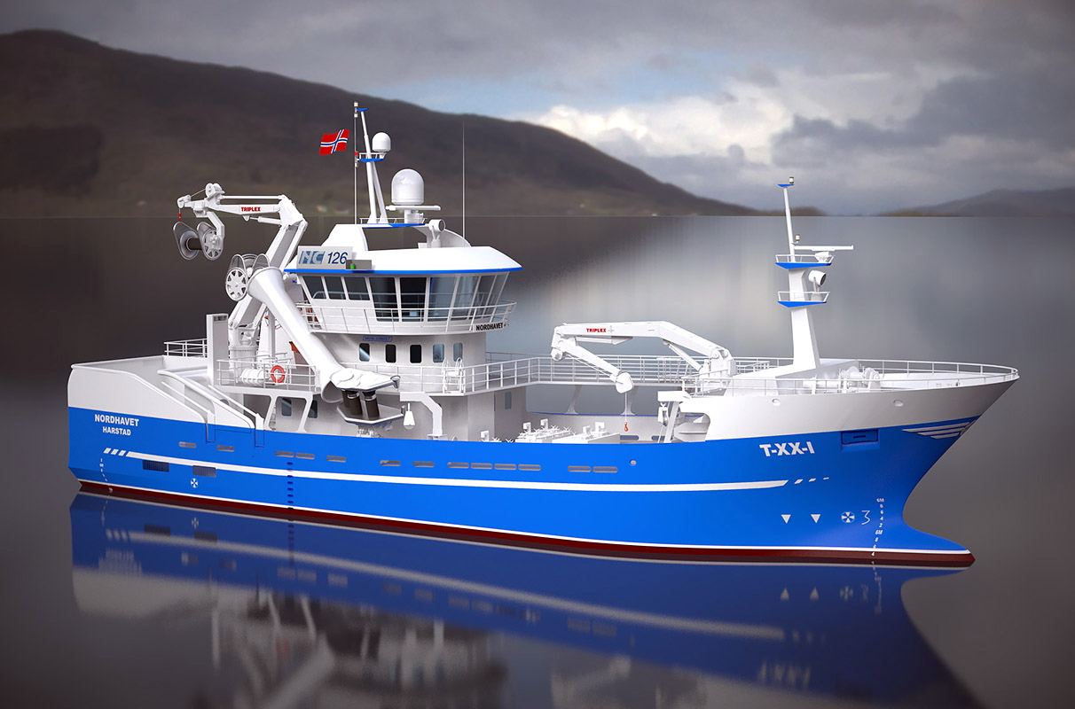 Seiners for Larsnes to be partly built in Polish yards