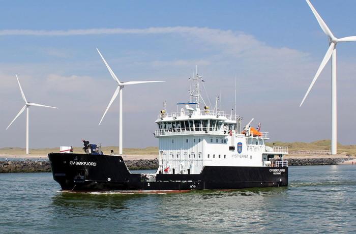 "OV Bokfjord, ""Danish Ship of the Year 2016"". Photo: Hvide Sande"